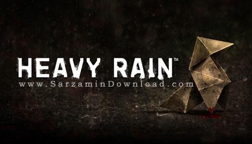 بازی باران شدید (برای کامپیوتر) - Heavy Rain PC Game
