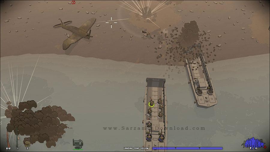 بازی فرار با تفنگ (برای کامپیوتر) - Running With Rifles Pacific PC Game