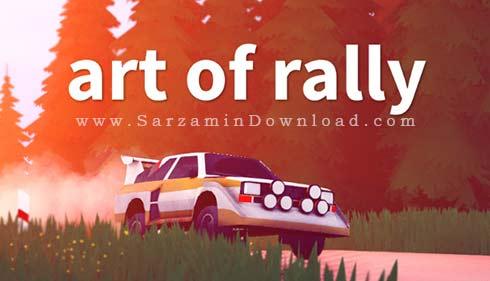 بازی هنر رالی (برای کامپیوتر) - Art of Rally PC Game