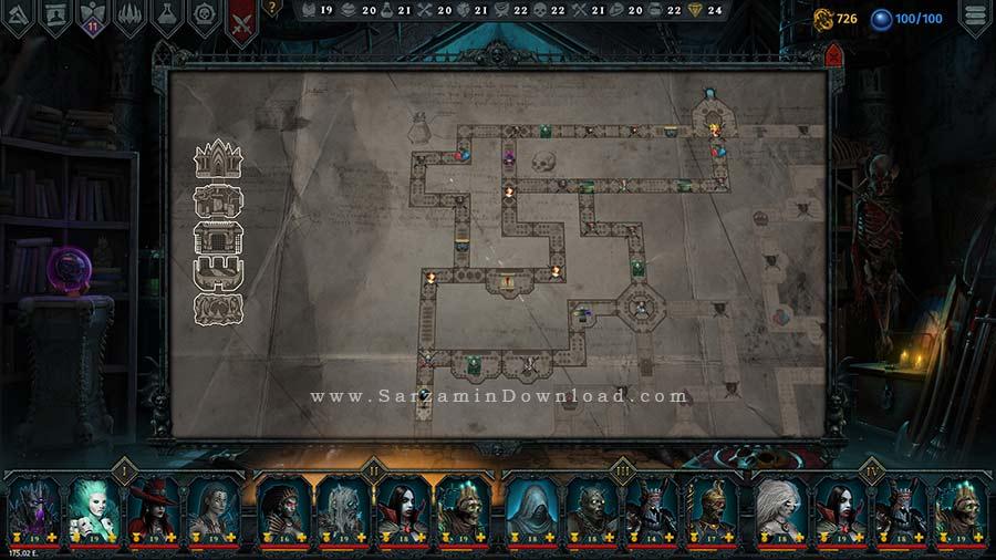 بازی ایراتوس، ارباب مرگ (برای کامپیوتر) - Iratus Lord of the Dead PC Game