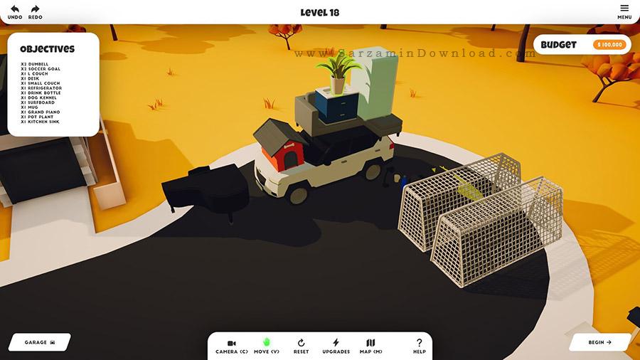 بازی حرکت رادیکالی (برای کامپیوتر) - Radical Relocation PC Game