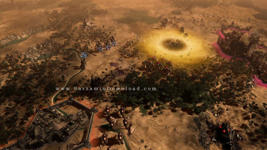 بازی چکش جنگی 40000 (برای کامپیوتر) - Warhammer 40000 Gladius Relics of War Assault Pack PC Game
