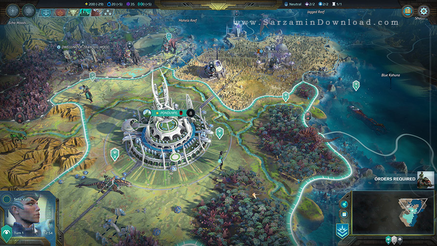بازی عصر عجایب (برای کامپیوتر) - Age of Wonders Planetfall PC Game