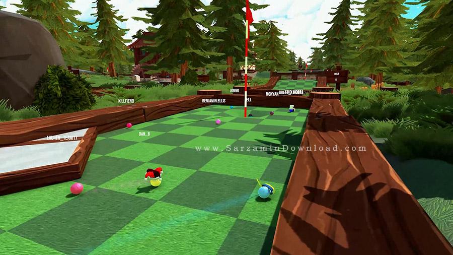 بازی گلف (برای کامپیوتر) - Golf With Your Friends PC Game