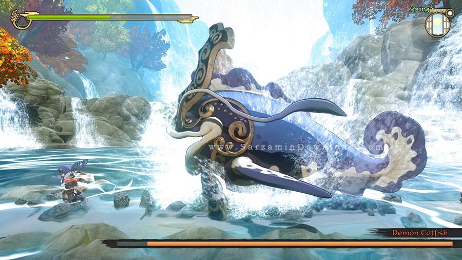 بازی ساکونا (برای کامپیوتر) - Sakuna Of Rice and Ruin Digital Deluxe Edition PC Game