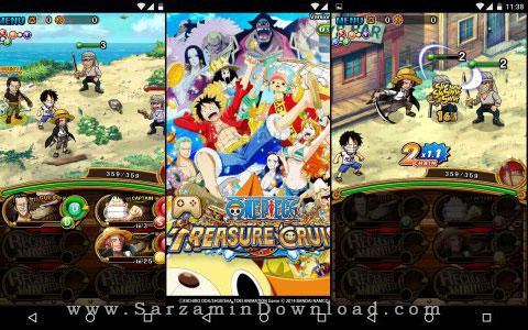 دانلود بازی ماجراجویی (برای اندروید)  One Piece Treasure Cruise 5.1.1