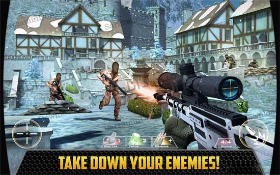 دانلود بازی تفنگی (برای اندروید) - Kill Shot 3.5 Android