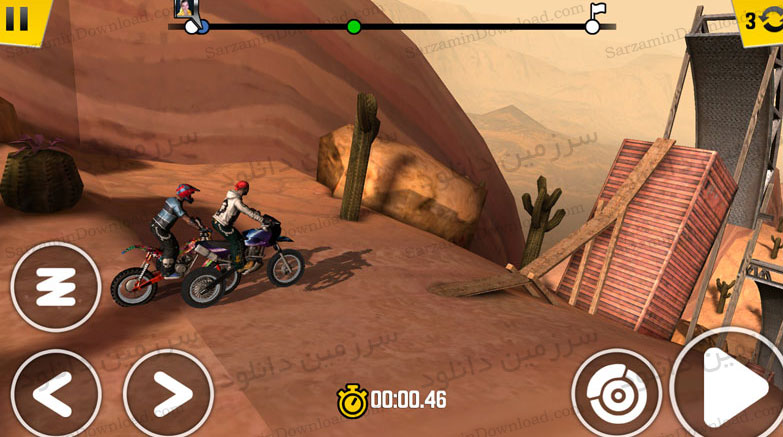 بازی موتور سواری (برای اندروید) - Trial Xtreme 4 1.9 Android