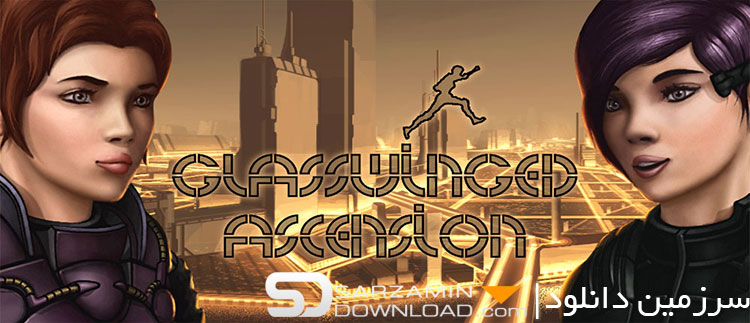 بازی اکشن (برای اندروید) - Glasswinged Ascension 1.5 Android