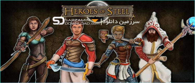 بازی نبرد قهرمانان آهنین (برای اندروید) - Heroes of Steel RPG Elite 4.4.1 Android