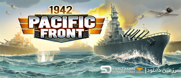 بازی استراتژیک نبرد در اقیانوس آرام (برای اندروید) - a 1942 Pacific Front 1.6.0 Android