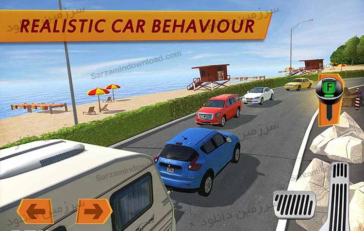 بازی شبیه سازی شده کاروان ون (برای اندروید) - Camper Van Truck Simulator 1.0 Android