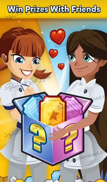 بازی آشپزی در رستوران داش (برای اندروید) - Restaurant Dash - Gordon Ramsey 2.0.9 Android