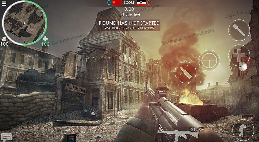بازی قهرمانان جنگ جهانی (برای اندروید) - World War Heroes 1.1 Android