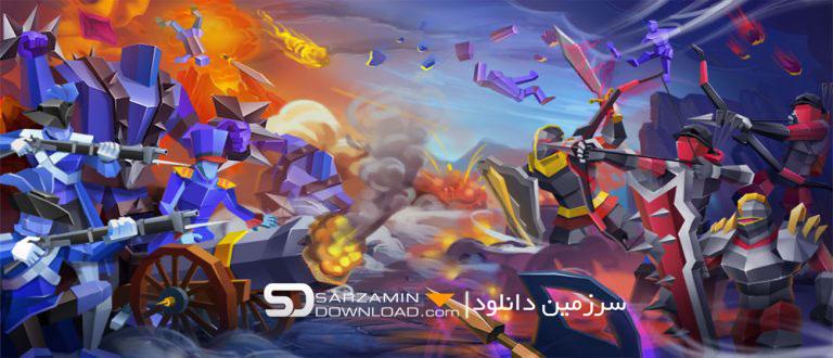 بازی شبیه ساز میدان نبرد 2 (برای اندروید) - Epic Battle Simulator 2 1.2.20 Android