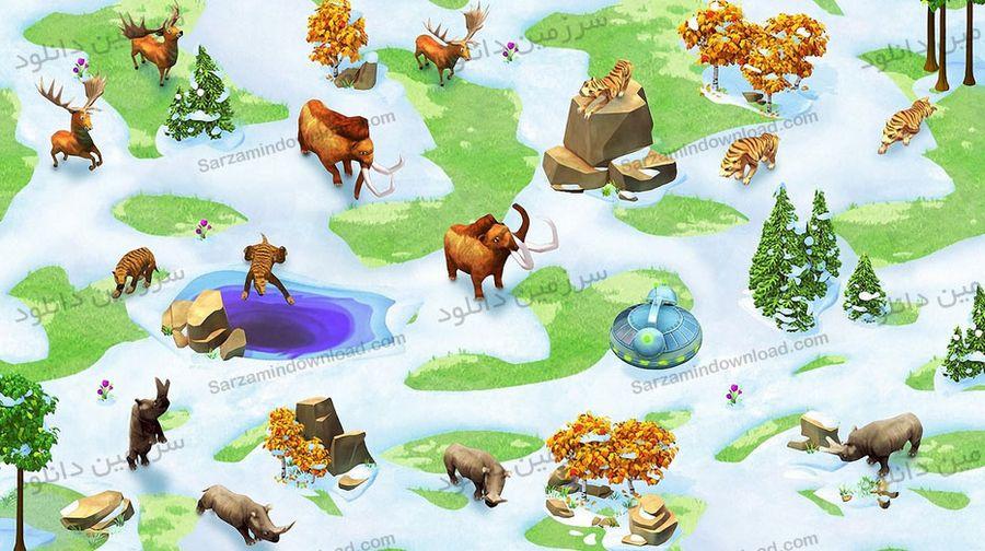 بازی نجات حیوانات باغ وحش (برای اندروید) - Wonder Zoo - Animal rescue 2.0.5 Android