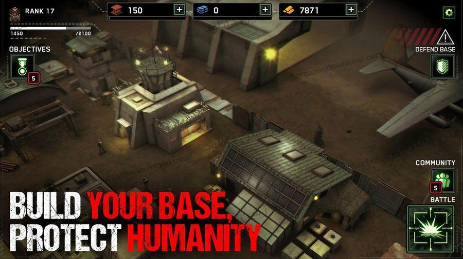بازی نابود کننده بقای زامبیها (برای اندروید) - Zombie Gunship Survival 1.1.14
