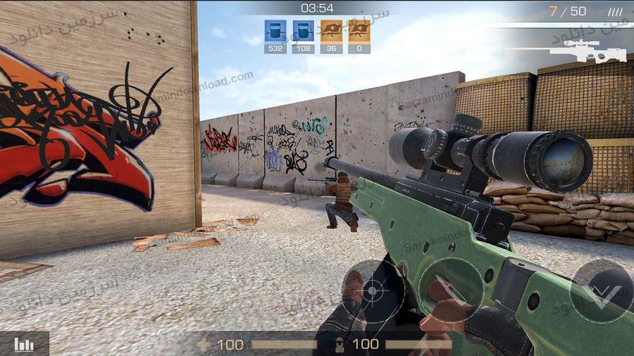 بازی بن بست 2 (برای اندروید) - Standoff 2 0.5.0 Android