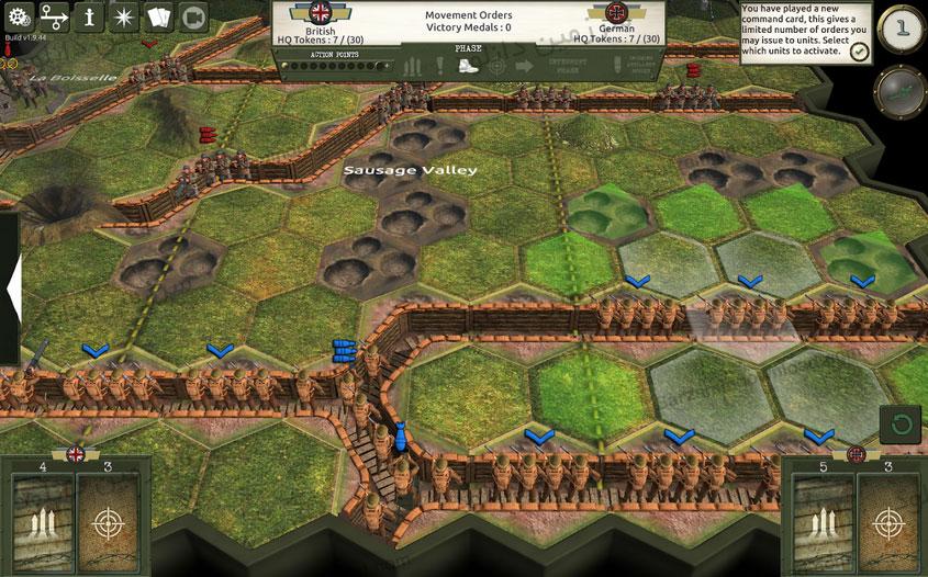 بازی جنگ بزرگ (برای اندروید) - Commands & Colors: The Great War 1.9.45 Android