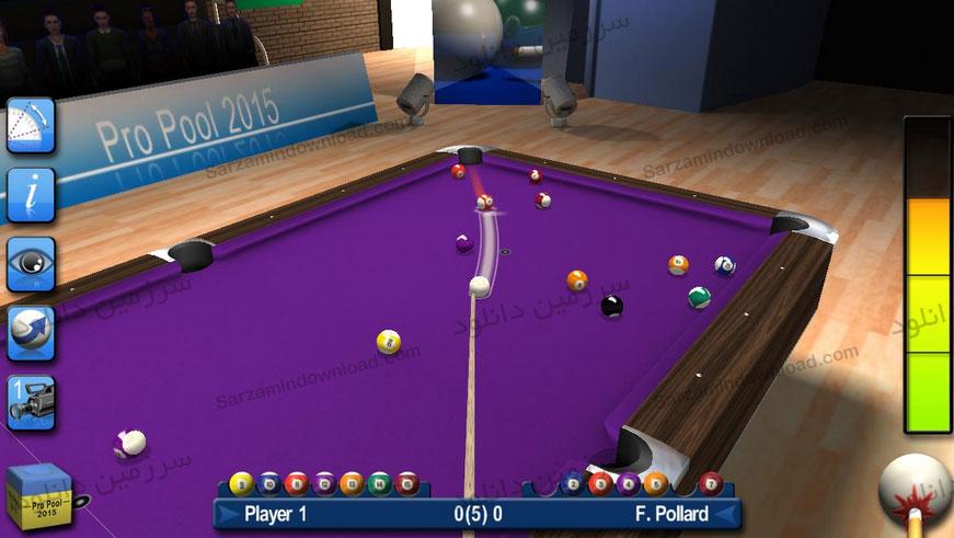 بازی بیلیارد حرفهای 2017 (برای اندروید) - Pro Pool 2017 1.24 Android