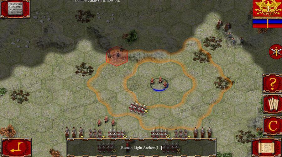 بازی جنگهای روم باستان (برای اندروید) - Ancient Battle: Rome 1.0 Android