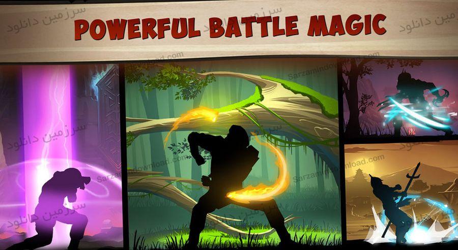 بازی مبارزه سایه 2 (برای اندروید) - Shadow Fight 2 Special Edition 1.0.0 Android