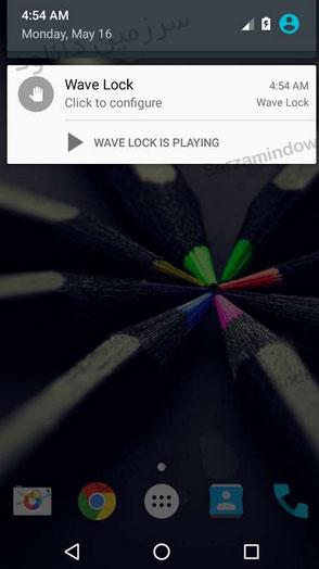 دانلود نرمافزار خاموش و روشن کردن صفحه نمایش بدون نیاز به فشردن دکمه (برای اندروید) - Wave to Unlock and Lock Full 1.8.8.7 Android