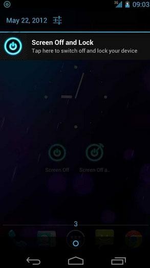 نرمافزار خاموش و قفل کردن صفحه گوشی بدون استفاده از دکمه (برای اندروید) - Screen Off and Lock 1.17.4 Android