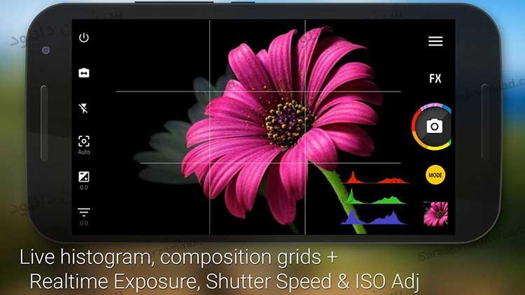 دانلود نرم افزار دوربین (برای اندروید)  Camera Zoom FX 6.2.9 Android