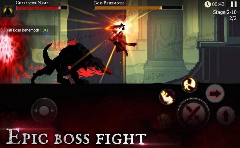 بازی شوالیه تاریکی (برای اندروید) - Shadow of Death 1.13.2.0 Android