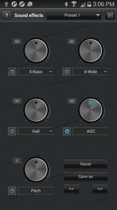 نرم افزار پخش آهنگ جت آدیو (برای اندروید)  - JetAudio HD Music Player 9.1.2 Android