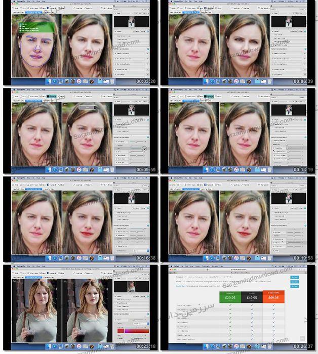 آموزش روتوش و تغییر چهره با استفاده از نرمافزار PortraitPro (فیلم آموزشی)