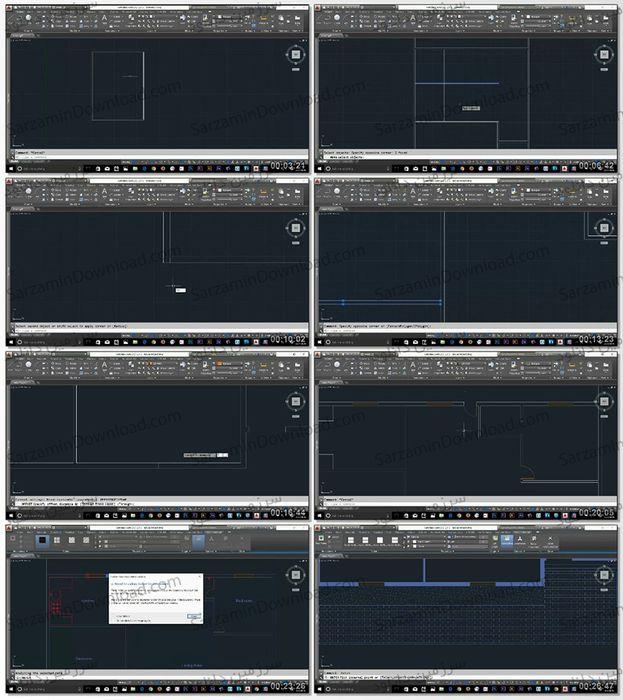 آموزش کار با نرمافزار AutoCAD Architecture (فیلم آموزشی)