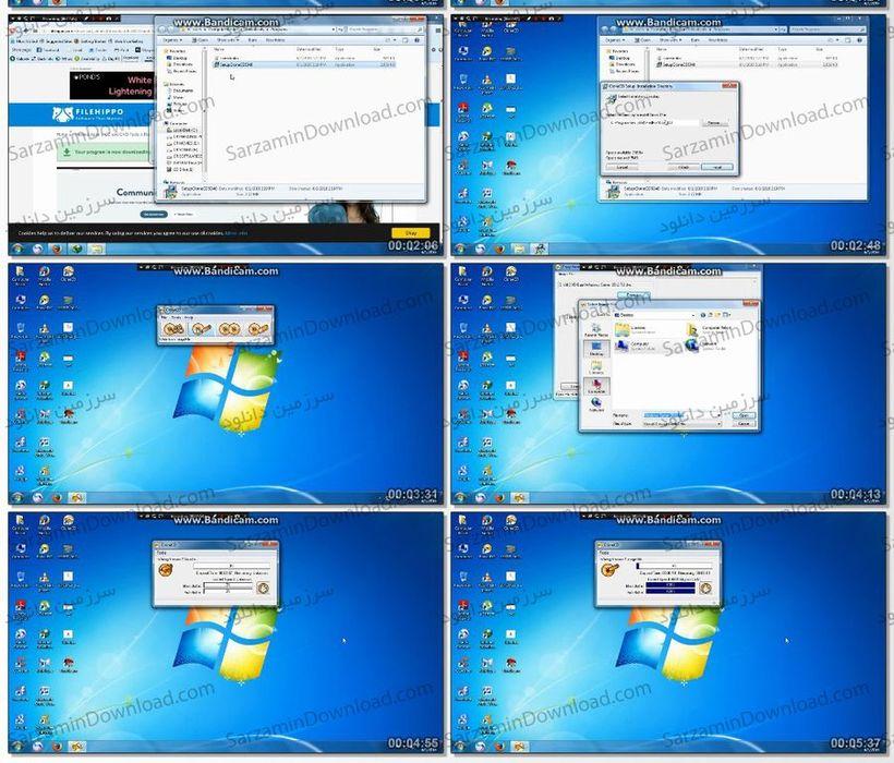 آموزش رایت سیدی با استفاده از نرمافزار Clone CD (فیلم آموزشی)