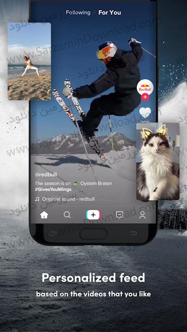 نرمافزار شبکه اجتماعی تیکتاک (برای اندروید) - TikTok 12.6.10 Android