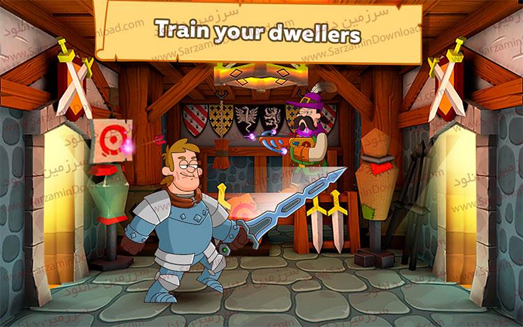 بازی امپراطوری فانتزی (برای اندروید) - Hustle Castle: Fantasy Kingdom 1.17.0 Android