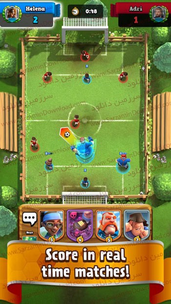 بازی فوتبال رویال 2020 (برای اندروید) - Soccer Royale - Stars of Football Clash 1.4.7 Android