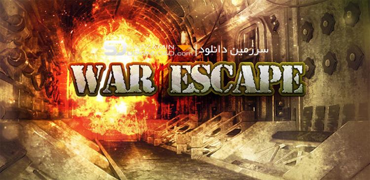 بازی فرار از جنگ (برای اندروید) - War Escape 1.2 Android