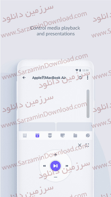 نرم افزار تبدیل گوشی به ماوس و کیبورد (برای اندروید) - WiFi Mouse Pro 4.1.7 Android