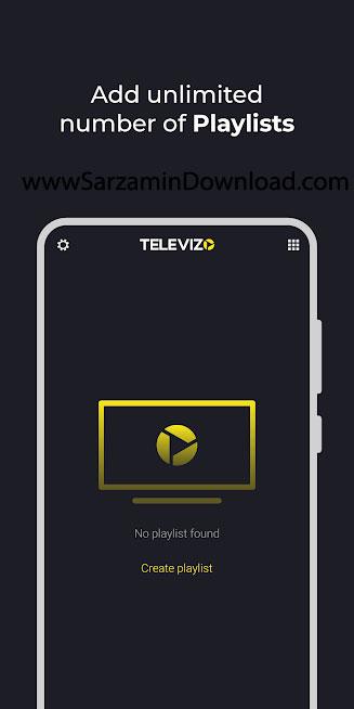 نرم افزار تلویزیون اینترنتی تلویزو (برای اندروید) - Televizo IPTV PRO 1.8.7.5 Android