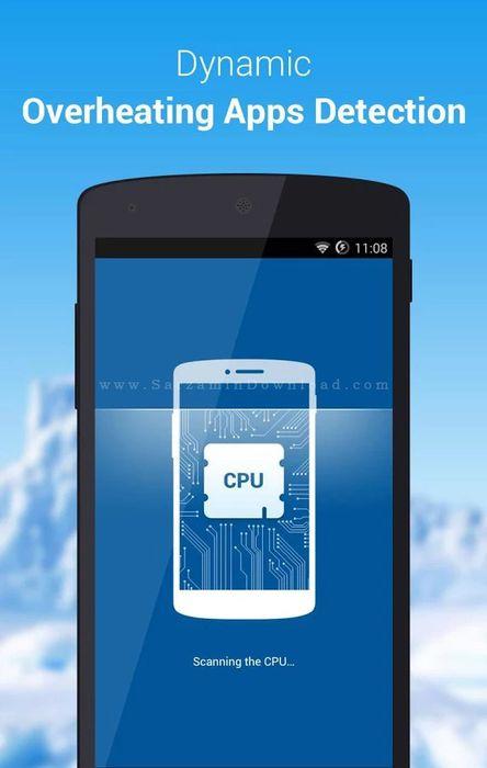 نرم افزار خنک کننده پردازنده گوشی (برای اندروید) - CPU Cooler Master Phone Cooler 3.3.12 Android