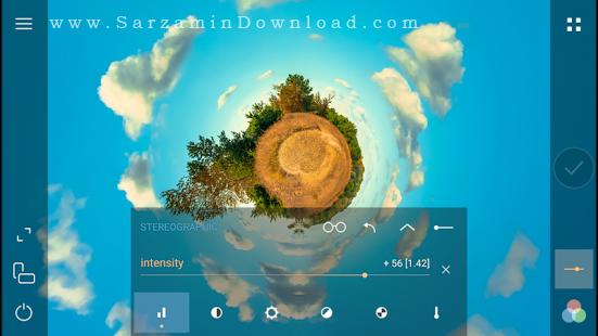 نرم افزار دوربین (برای اندروید) - Cameringo Effects Camera 2.8 Android