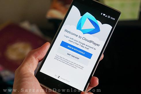 نرم افزار پخش موزیک از سرویس های ابری - CloudPlayer 1.2 Android