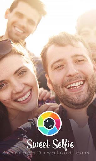 نرم افزار عکاسی سلفی (برای اندروید) - Sweet Selfie Candy v2.1 Android