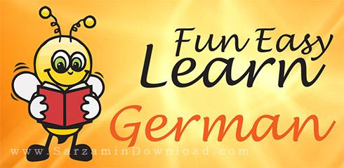 نرم افزار آموزش زبان آلمانی به فارسی (برای اندروید) - Learn German 6000 Words 5.23 Android