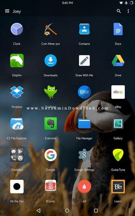 نرم افزار لانچر (برای اندروید) - Lucid Launcher Pro 5.9865 Android
