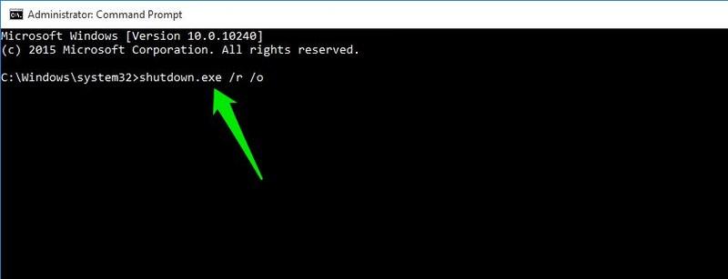 6 راه برای دسترسی به منوی بوت ویندوز 10 (بخش 1)