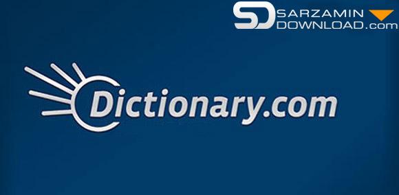 نرم افزار دیکشنری انگلیسی به انگلیسی (برای اندروید) -  Dictionary.com 7.2.3 Android