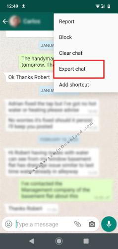آموزش پشتیبان گیری از مکالمات واتساپ در سیستم عامل ویندوز