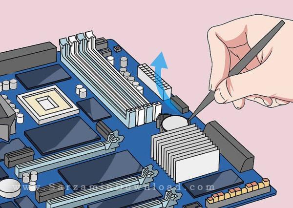 آموزش ریست بایوس در سیستم های کامپیوتری و لپ تاپ